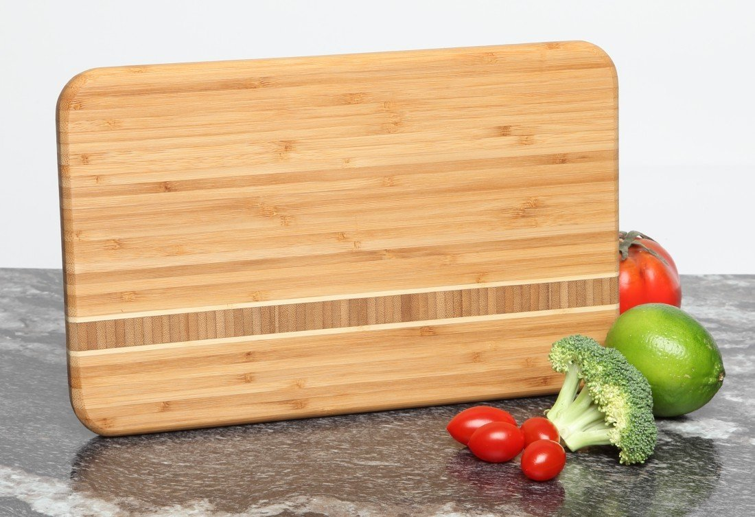 Personalized Bamboo Cutting Board Engraved 12 x 8