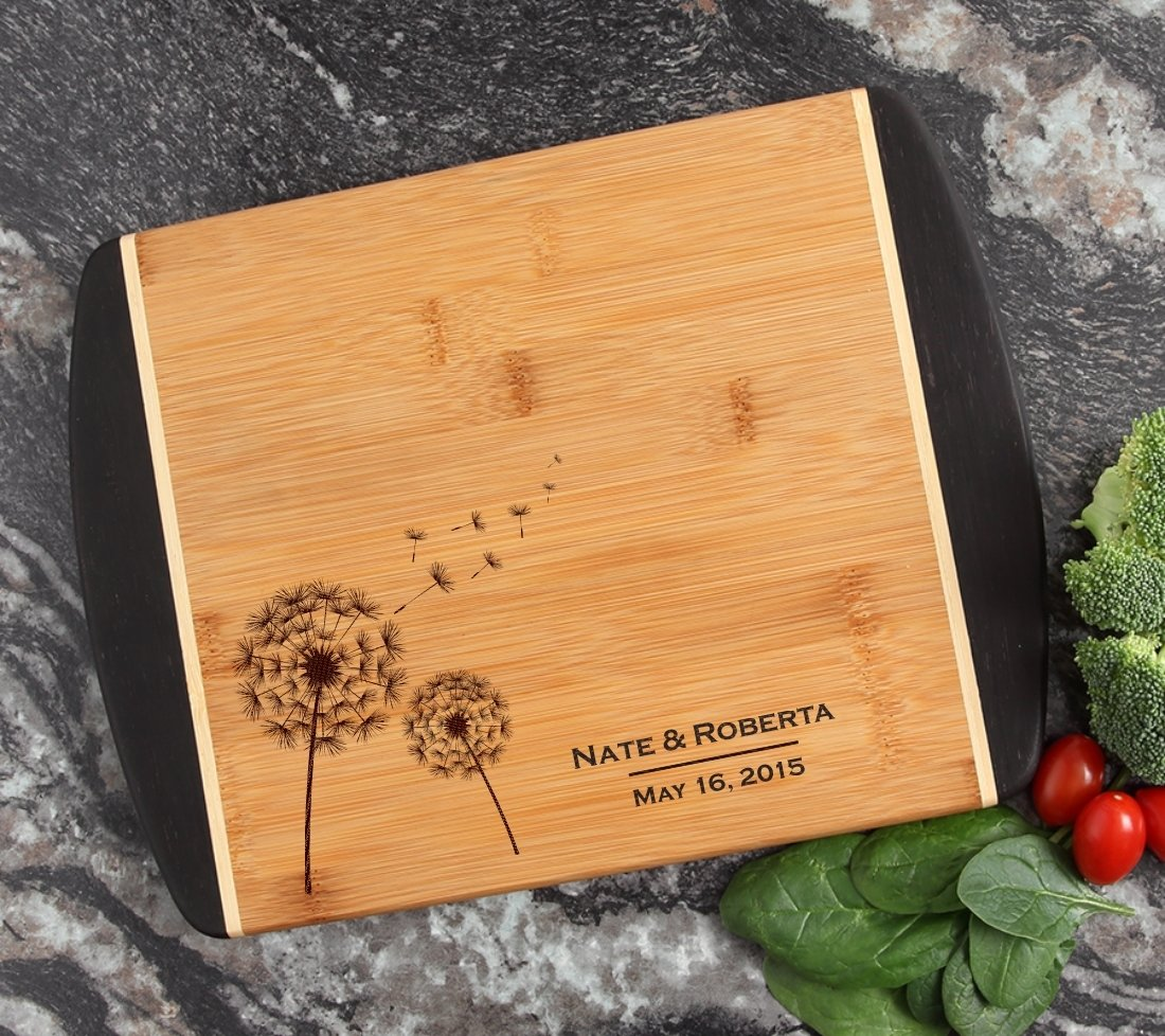 Cutting Board Engraved Personalized Bamboo 12 x 9 DESIGN 28 CBI-028