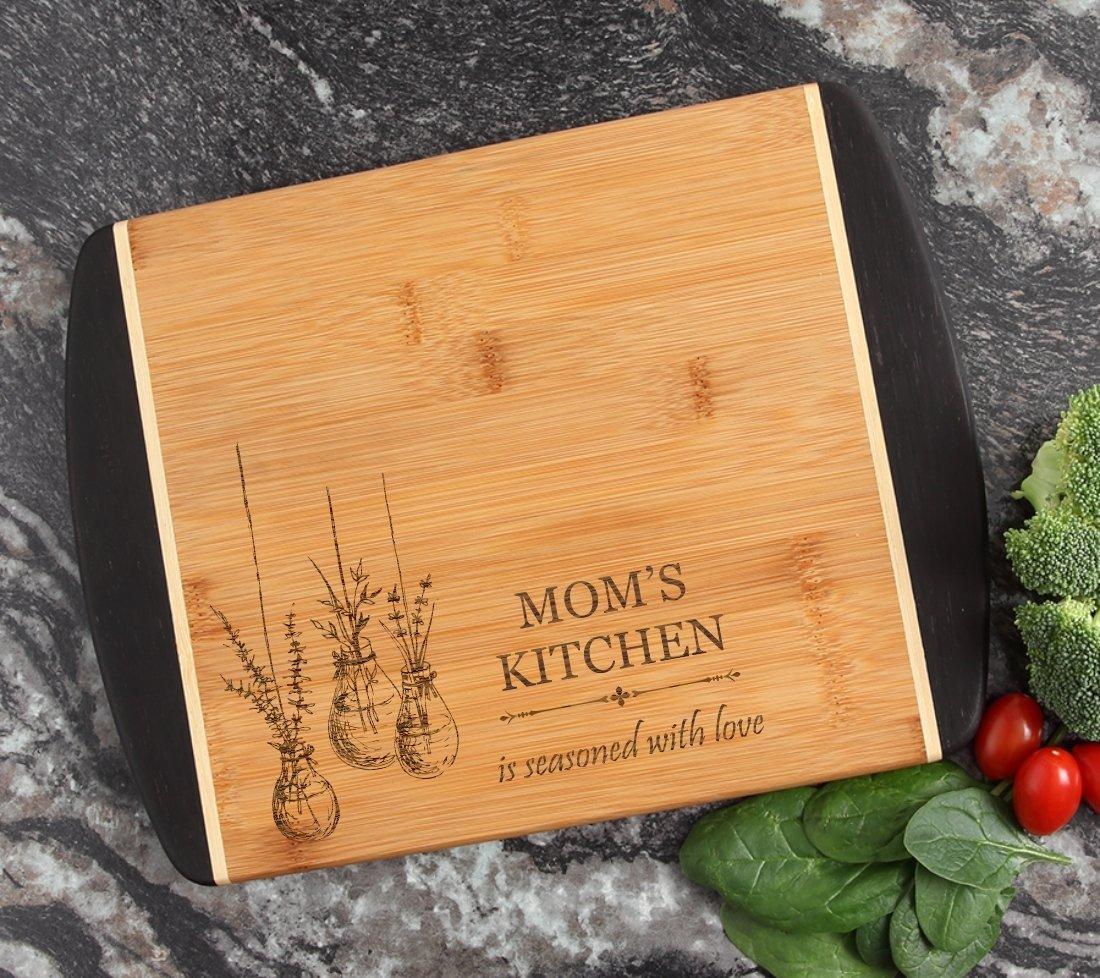 Cutting Board Engraved Personalized Bamboo 12 x 9 DESIGN 37 CBI-037