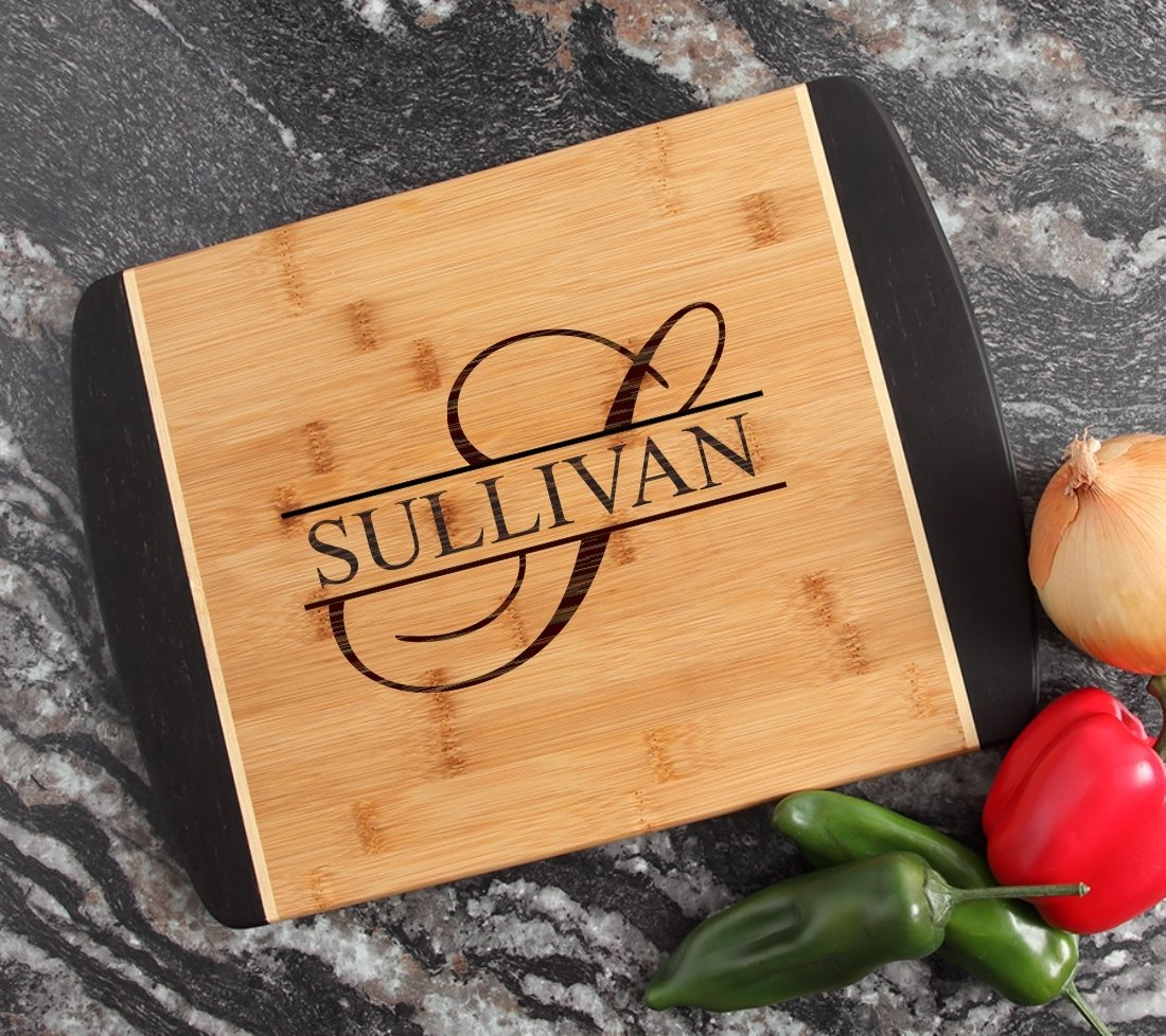 Engraved Cutting Board Personalized Bamboo 15 x 11 DESIGN 25