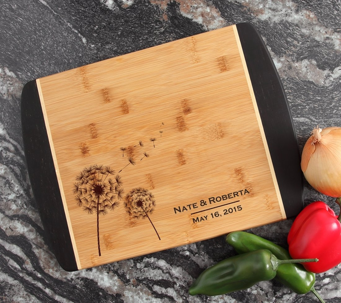 Engraved Cutting Board Personalized Bamboo 15 x 11 DESIGN 28 CBJ-028