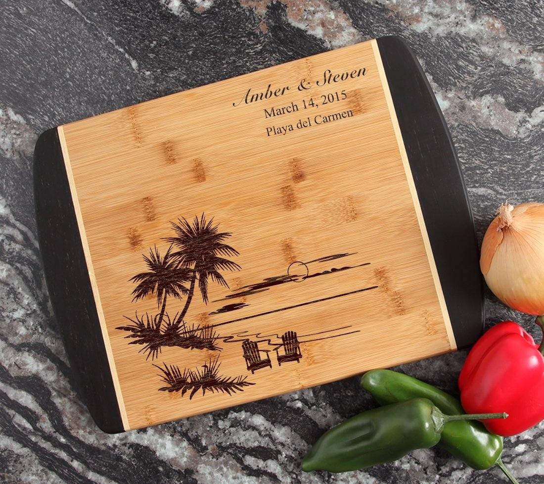 Engraved Cutting Board Personalized Bamboo 15 x 11 DESIGN 33 CBJ-033