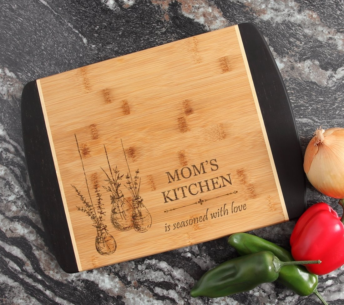 Engraved Cutting Board Personalized Bamboo 15 x 11 DESIGN 37 CBJ-037