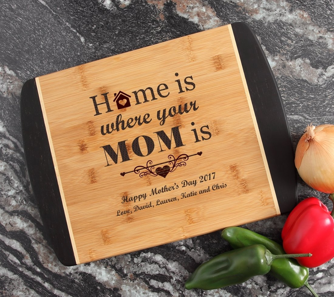 Engraved Cutting Board Personalized Bamboo 15 x 11 DESIGN 42 CBJ-042