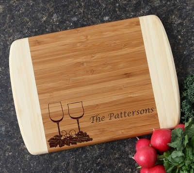 Personalized Cutting Board Custom Engraved 10 x 7 DESIGN 5