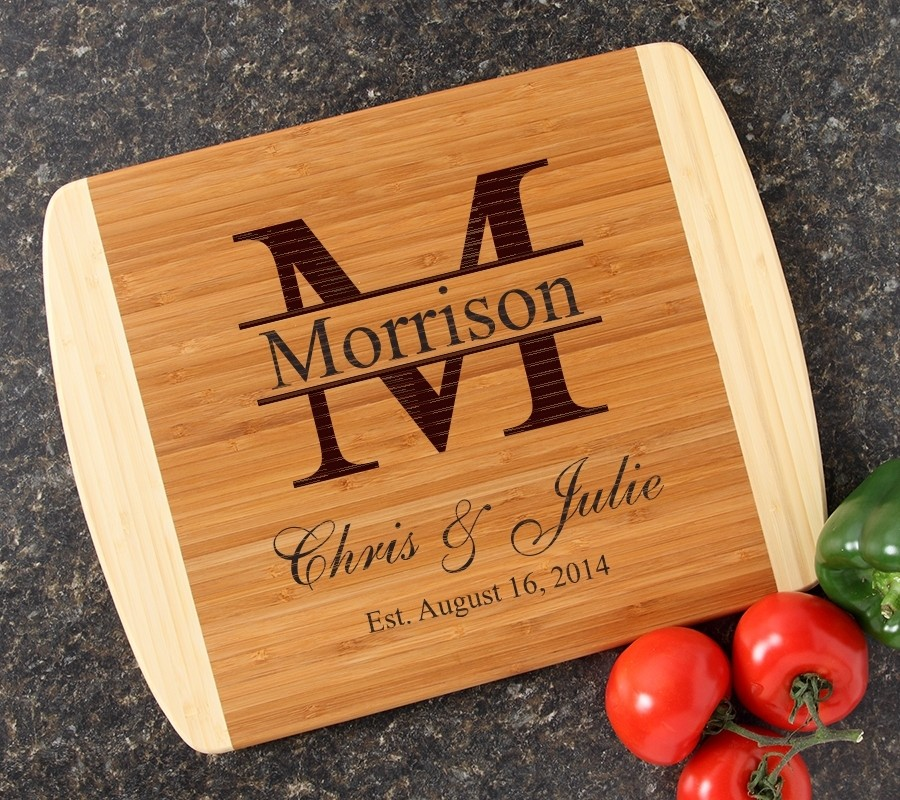 Personalized Cutting Board Custom Engraved 14x11 DESIGN 24