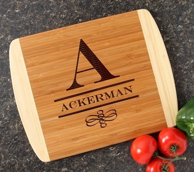 Personalized Cutting Board Custom Engraved 14x11 DESIGN 12