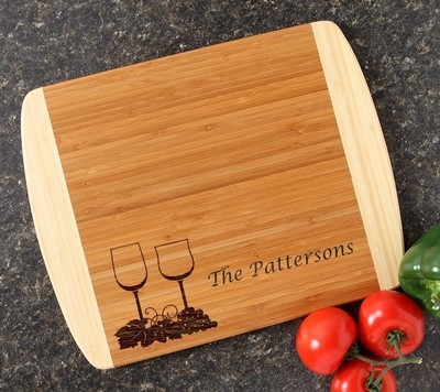 Personalized Cutting Board Custom Engraved 14x11 DESIGN 5
