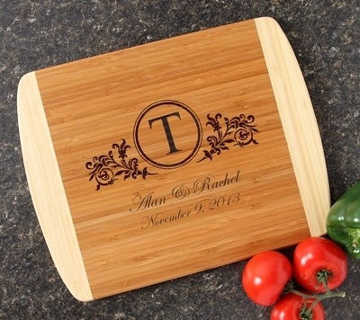 Personalized Cutting Board Custom Engraved 14x11 DESIGN 15