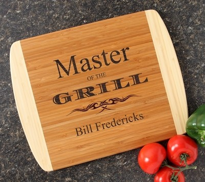 Personalized Cutting Board Custom Engraved 14x11 DESIGN 23