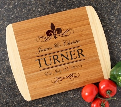 Personalized Cutting Board Custom Engraved 14x11 DESIGN 20