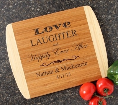 Personalized Cutting Board Custom Engraved 14x11 DESIGN 26