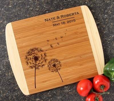 Personalized Cutting Board Custom Engraved 14x11 DESIGN 28