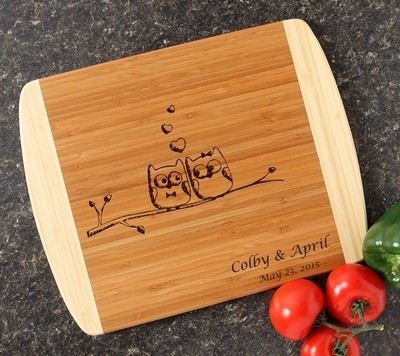 Personalized Cutting Board Custom Engraved 14x11 DESIGN 29