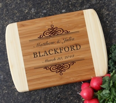 Personalized Cutting Board Custom Engraved 10 x 7 DESIGN 14
