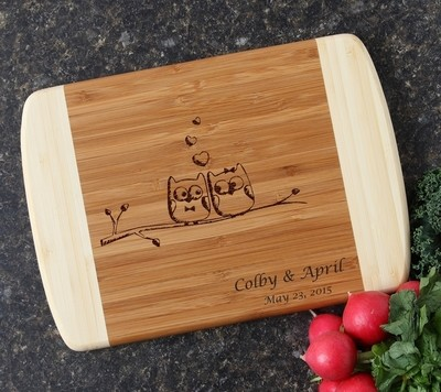 Personalized Cutting Board Custom Engraved 10 x 7 DESIGN 29
