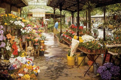 Île de La Cité Flower Market 00015