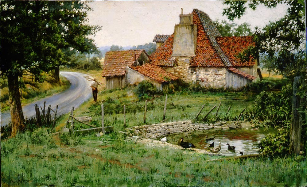 An Ancient French Farmhouse 00029
