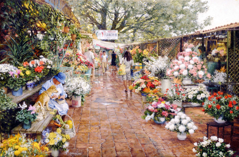 Cuernavaca Flower Market 00020
