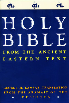 Holy Bible From Ancient Eastern Texts