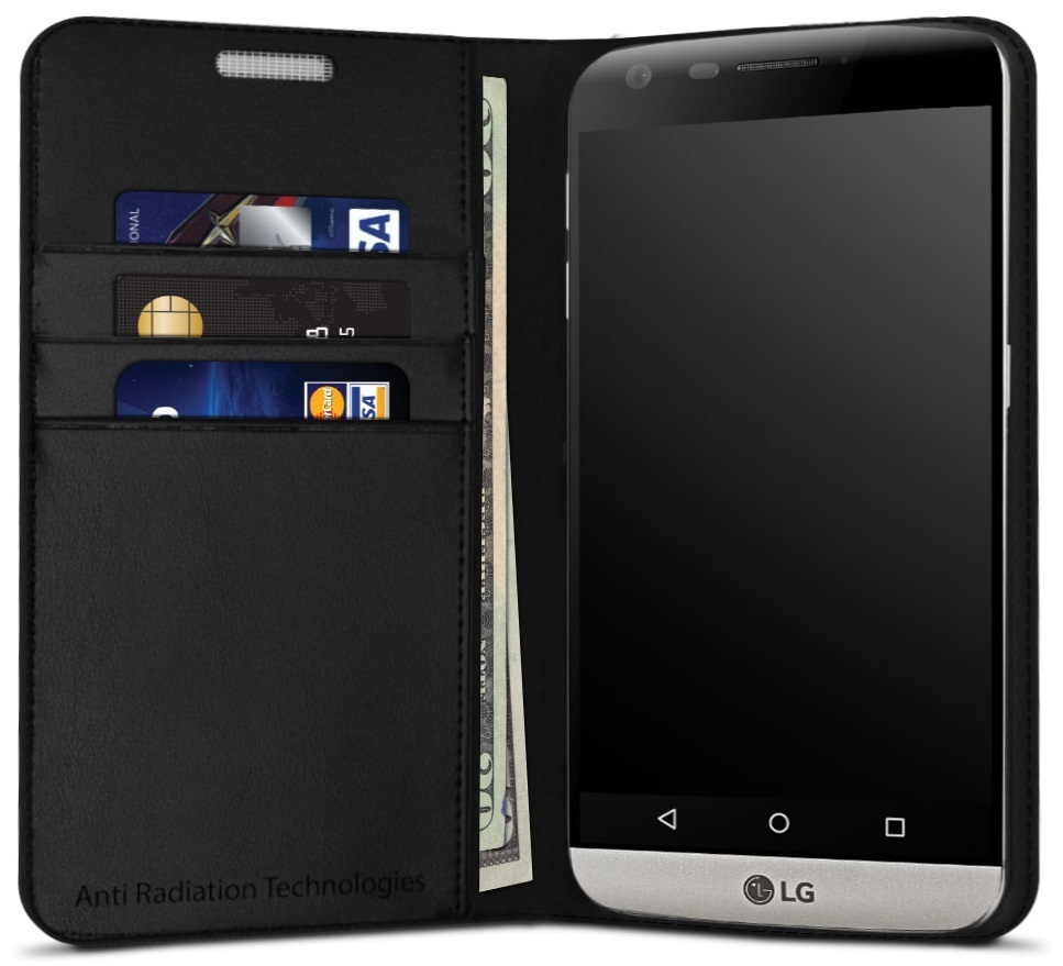 vest Anti-Radiation Wallet Case for LG G5 00101