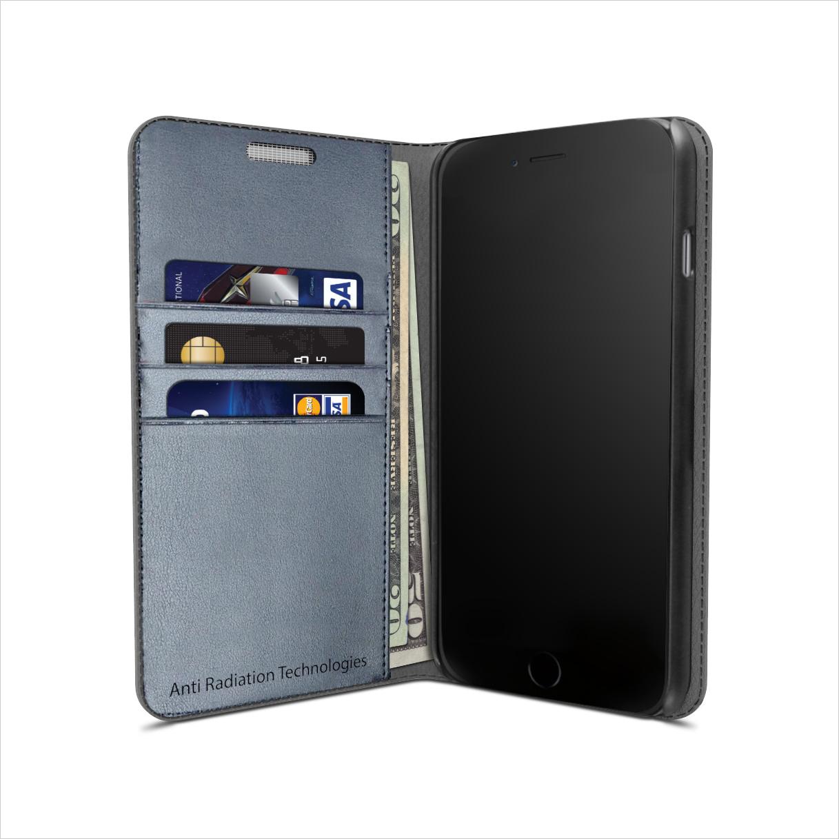 vest Anti-Radiation Wallet Case for iPhone 6 PLUS / 6s PLUS 00096