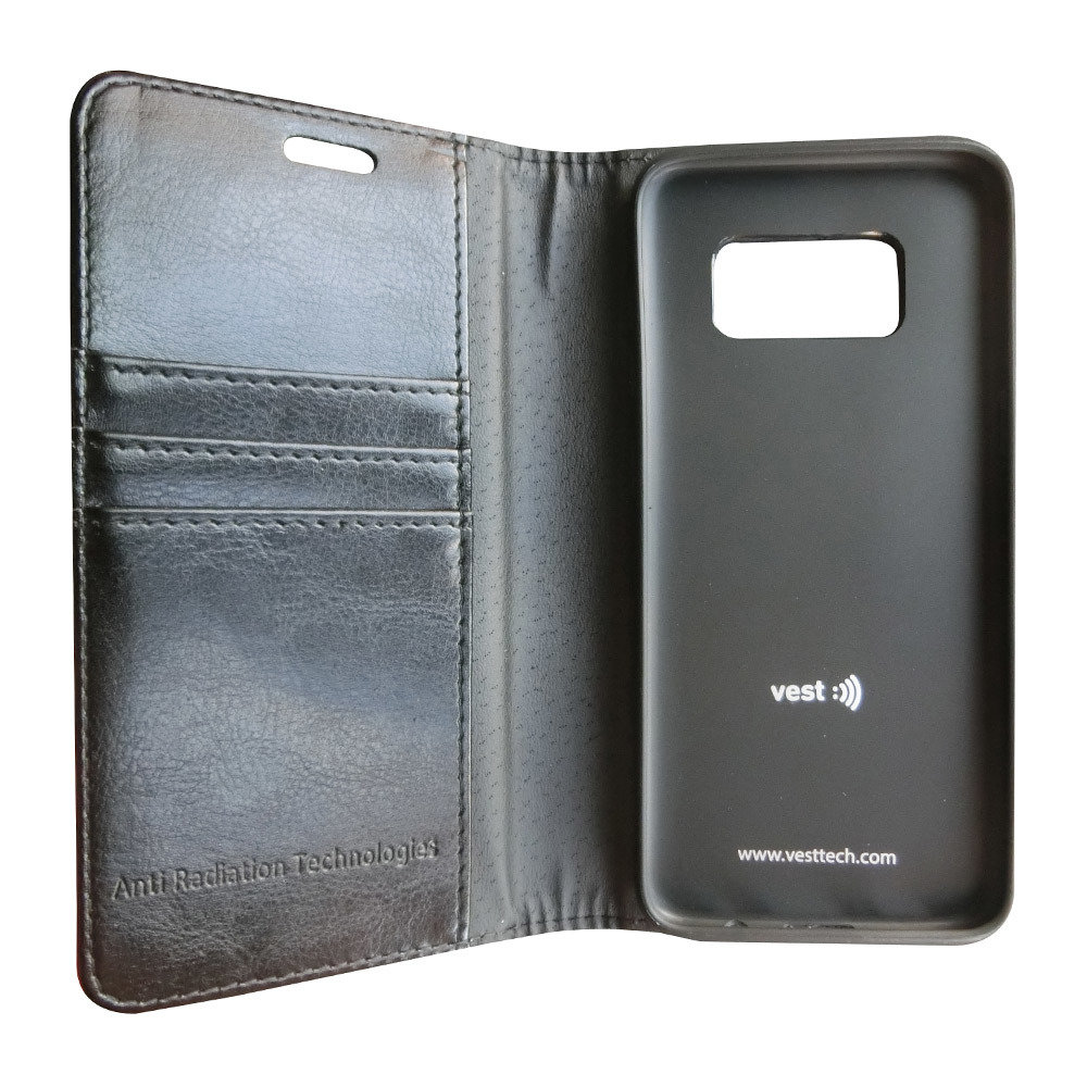 vest Anti-Radiation Wallet Case for Galaxy S8+ PLUS