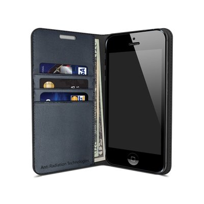vest Anti-Radiation Wallet Case for iPhone SE and iPhone 5/5s