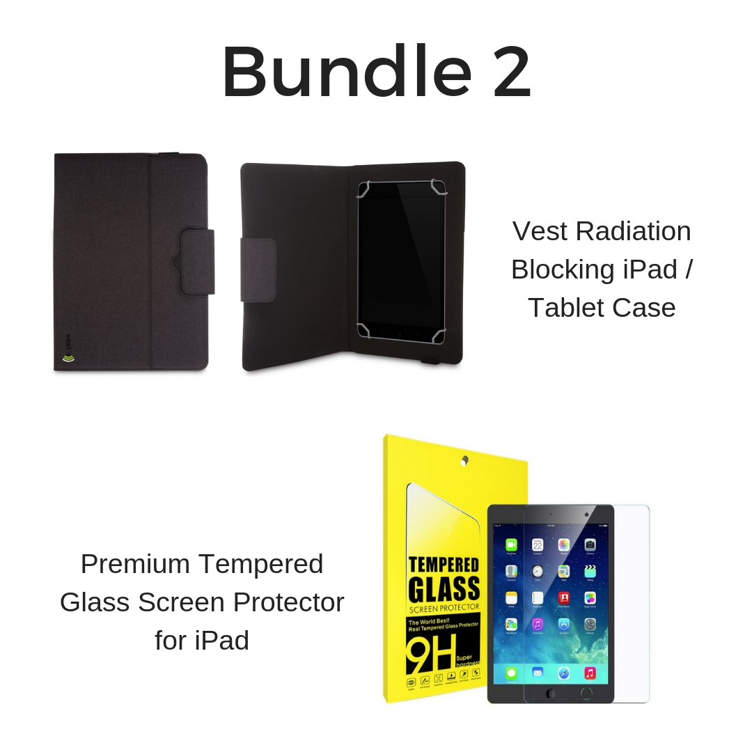 Anti-radiation Tablet Case and Screen Protector 00346