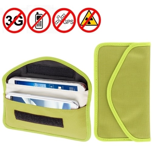 Nano Technology Anti Radiation Shielded Mobile Phone Wallet - Large