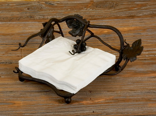 Vineyard Outdoor Dinner Napkin Holder