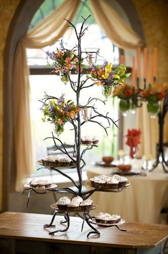 Twig 6 Plate Cupcake Server