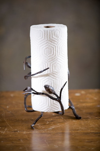 Fruitwood Paper Towel Holder