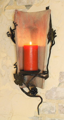 Vineyard Tile Sconce