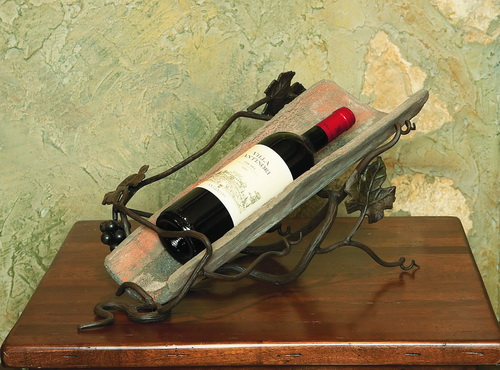 Vineyard Tile 1 Bottle Wine Holder