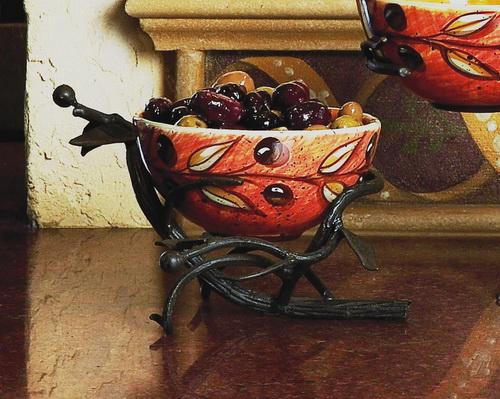 Twig Olive Bowl Server