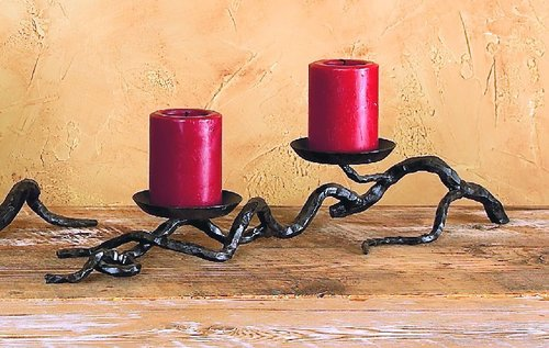 Twig Double Branch Candleholder
