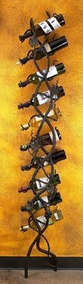Vineyard Wall 10 Bottle Wine Holder