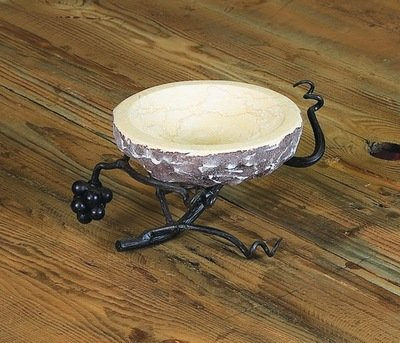 Vineyard Stone Bowl Server