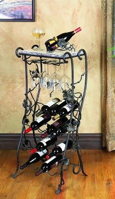 Vineyard 16 Bottle Wine Rack Server