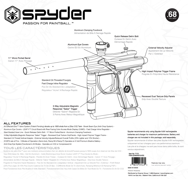 Spyder Fenix Box (Back)