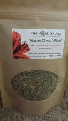 5 Prepacked 4 oz herbs for Resale- Mucous Detox Blend