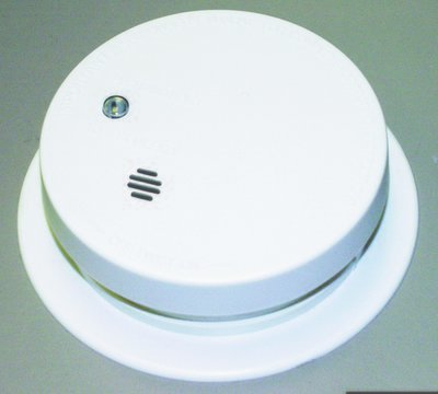 Fire Sentry Battery Powered Ionization Smoke Alarm w/ Trim Ring
