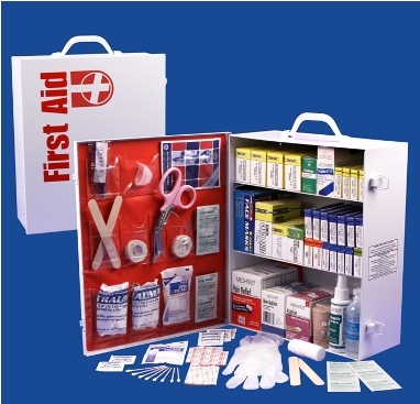 3 Shelf Professional First Aid Cabinet