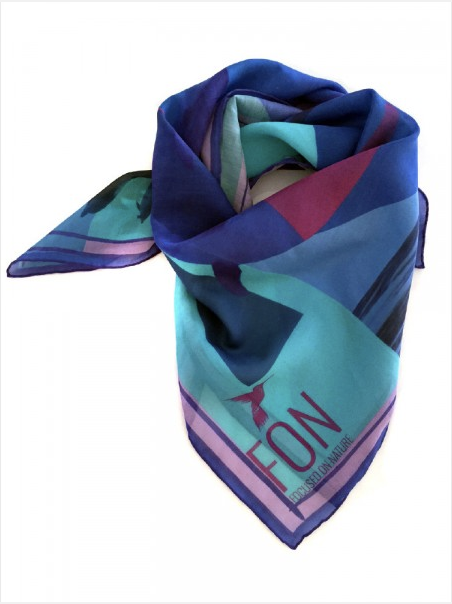 Focused on Nature's STENELLA scarf collection