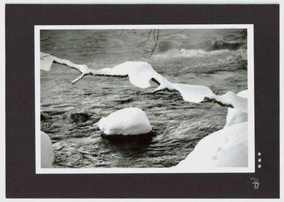 Fotokarte Bergbach