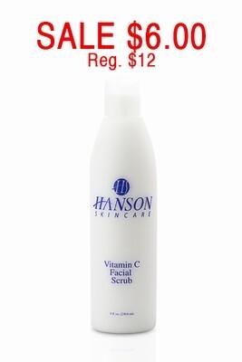 Vitamin C Facial Scrub, 8 oz