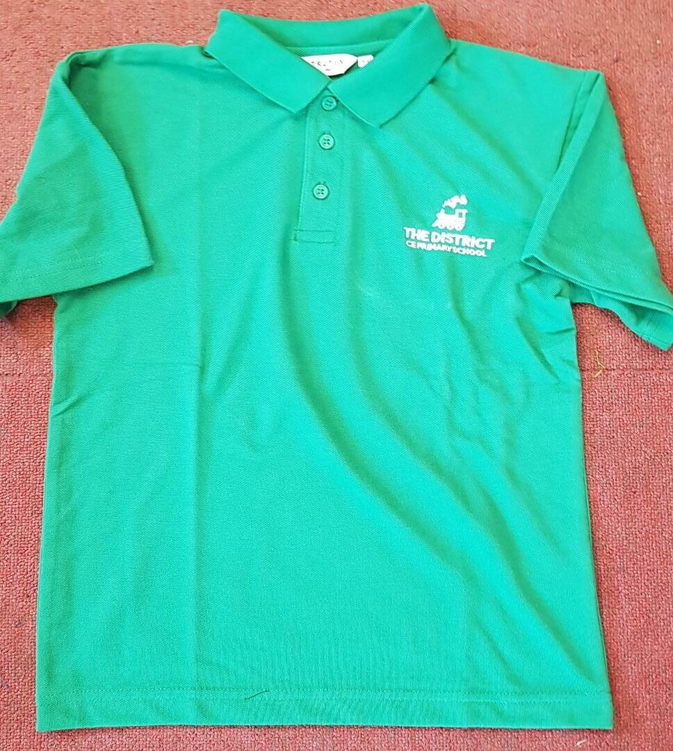 District CE Primary Polo Shirt New Logo