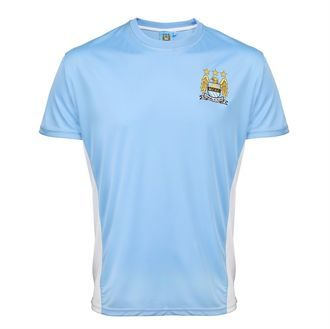 Manchester City FC Adults Performance T-shirt BCMCFCAPT1