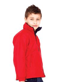 Unisex Childrens Reversible Fleece Jacket